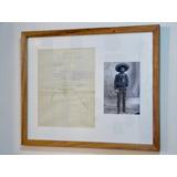 Carta Antigua Firma Autógrafa De Emiliano Zapata 1918