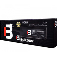 Memoria Ram Blackpcs Ddr4 Udimm 4gb 2400 Mhz 1.2v Md22402-