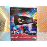 Auto Estereo Pioneer Mvh-x3 Bluetooth Multicolor Usb Aux
