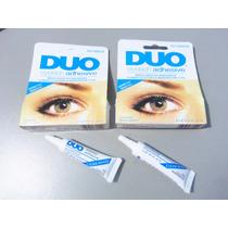 Kit 2 Colas Para Cilios Duo 9g Transparent A Prova D`gua !!!