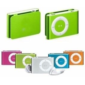 Mp3 Player Shuffle Clip + Cartão De Memória Micro Sd 8gb