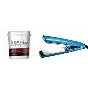 Forever Liss Btox Capilar Argan Oil+prancha Nano Titanium