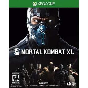 Mortal Kombat Xl Xbox One Mídia Física 100% Em Português
