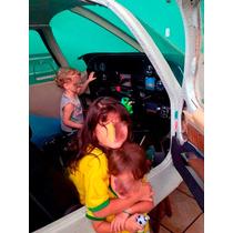 Simulador De Voo-coockpit [cabine] Do Avião Corisco.