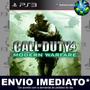 Ps3 Call Of Duty 4 Modern Warfare Código Psn Envio Agora
