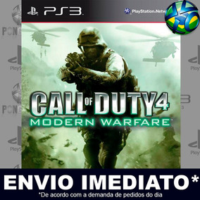 Ps3 Call Of Duty 4 Modern Warfare Código Psn Envio Agora