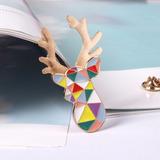 Pin Ciervo Multicolor