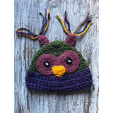 Gorrito Bebé Tejido Crochet Animales