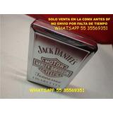 Cigarrera Harley Davidson Jack Daniels Metalica Cig Largos