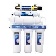 Ultrafiltración Ultravioleta 6 Etapas Filtro Agua 80 Lph