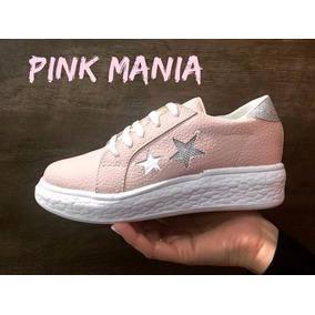 Zapatillas Estrellas 250 Temporada 2018 Pink Mania