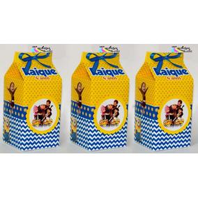 50 Caixa Milk Leite Personalizada Sacolinha Surpresa