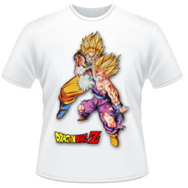 Camiseta Dragon Ball Z Goku Gohan Anime Desenho Camisa