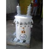 Transformador Electrico Monofasico En Aceite De 15 Kva