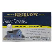 Té De Hierbas Bigelow Sweet Dreams 20 Pzas. De 1.5 Gr