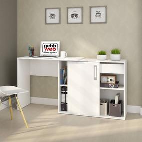 Escrivaninha 1 Porta Flex Montagem Treviso Web Gebb Idwt