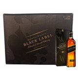 Caixa 12 Whisky Johnnie Walker Black Label 1 Litro Original