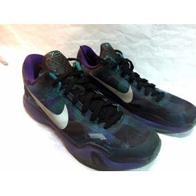 Zapatilla Basquet Nike Kobe X Overcome Usadas