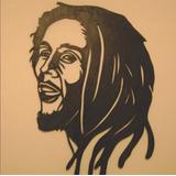 Quadro Adorno Famosos Bob Marley Em Mdf Vazado Para