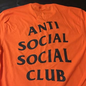 Camiseta Anti Social Social Club Supreme Palace Rip Camisa