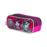 Estojo Monster High 3 Compartimentos - Sestini