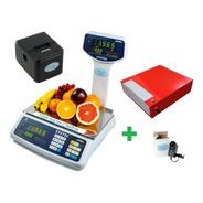 Balanza Systel Croma 31 Kg + Impresor Eco + Gaveta Delta