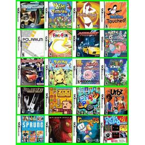 Jogos Para Nintendo Ds - Mega Pacote De Jogos