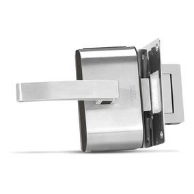 Fechadura 12v Para Porta De Vidro Pv90-1r-b Inox Hdl