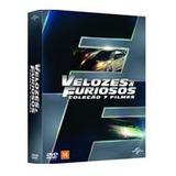 Box Velozes E Furiosos 1 A 7 (dvd) Paul Walker, Dwayne Johns