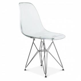 Cadeira Charles Eames Eiffel Cadeiras Transparente Acrilico