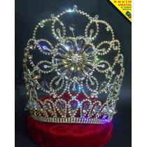 Corona Para Reina De Carnaval Patria Certamen Belleza Fiesta