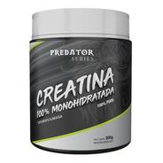 Creatina 100% Monoidratada (predator) - 300g - Nutrata
