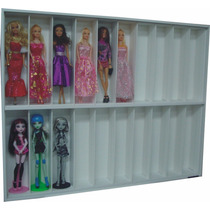 Estante Bonecas Barbie Monster High Com 20 Nichos