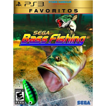 Sega Bass Pescaria Fishing Ps3 Psn Midia Digital Original