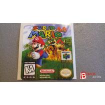 Etiquetas Reemplazo Cartucho Nintendo64 N64 Efa-