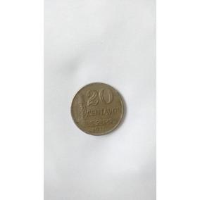 Colecionismo - Moeda *20 Centavos* Brasil 1970