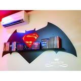 Prateleira Batman Vs Superman. Edição Especial. Série Heróis