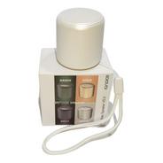 Caixa Som Bluetooth Tws Silicone Mini Speaker 3w White