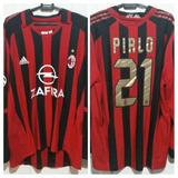 Camisa Italia Pirlo - Camisa Milan Masculina no Mercado Livre Brasil 803468c4fc26a