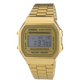 Reloj Casio Dorado A168 Retro Clásico Vintage Envío Gratis