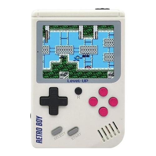 Consola Level Up Retroboy 8GB  color blanco