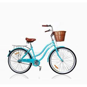 Bicicleta Vintage De Mujer Jf Aro 26 Nuevas