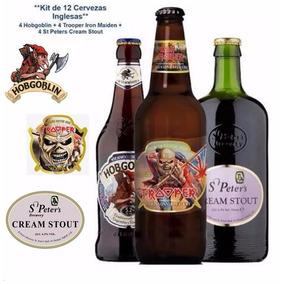 Kit 12 Cerveza Trooper + Hobgoblin + St Peters Cream Stout