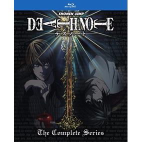 Blu-ray Death Note Serie Completa Lacrado - Sob Encomenda