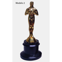 Estatuilla Premio Oscar 19cm Metal Personalizado Hollywood