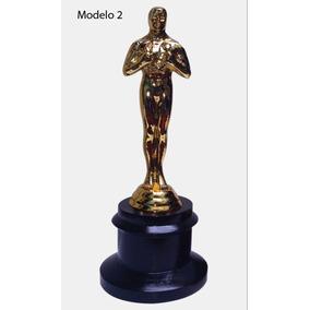 Personaliza Estatuilla Premio Oscar 21cm Metal Hollywood