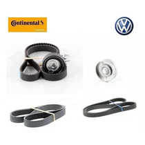 Kit Correia Dentada Alternador Tensor Vw Gol G5 1.0 - 1.6 8v
