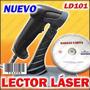 Lector Codigo De Barras Láser + Base + Software Barrascarta