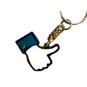Llavero Metalico Esmaltado - Like Facebook Me Gusta