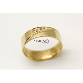 Aliança De Casamento Noivado Ouro 18k 750 4g 6mm Promoção